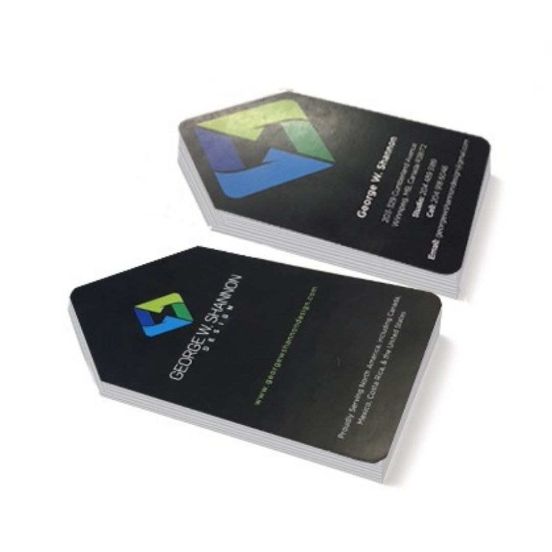 George W Shannon Business Cards